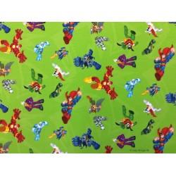 Super helte Digital Print 140 cm bred