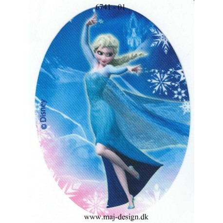 Elsa Printet strygelapper 11x8 cm