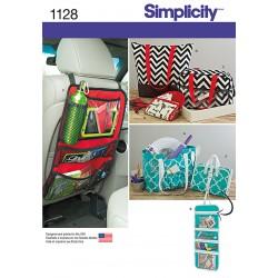 Taske og pung snitmønster Simplicity 1128