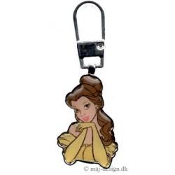 Lynlås vedhæng Belle Disney prinsesse