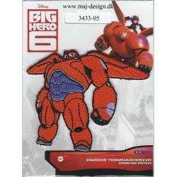 Baymax Broderet strygemærke BIG HERO 7x8 cm