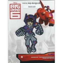 Big Hero Broderet strygemærke 7x5 cm