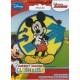 Mickey Mouse broderet strygemærke 7,5 cm