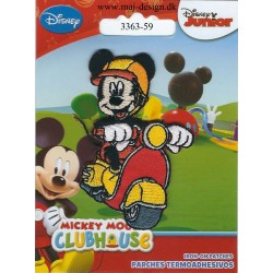 Mickey Mouse på Scooter ca.7cm høj