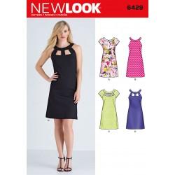 Sommerkjole New Look snitmønster