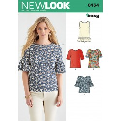 Bluse Snitmønster New Look easy