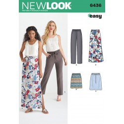 a5a0e702 Tunika og leggings Snitmønster New Look easy 6439