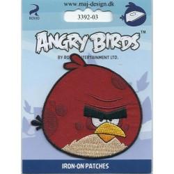 Angry Birds Rød Broderet strygemærke