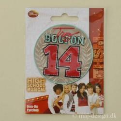High School Bolton 14 strygemærke Ø 6,5 cm