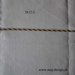 Anoraksnor Flerfarvet5 mm