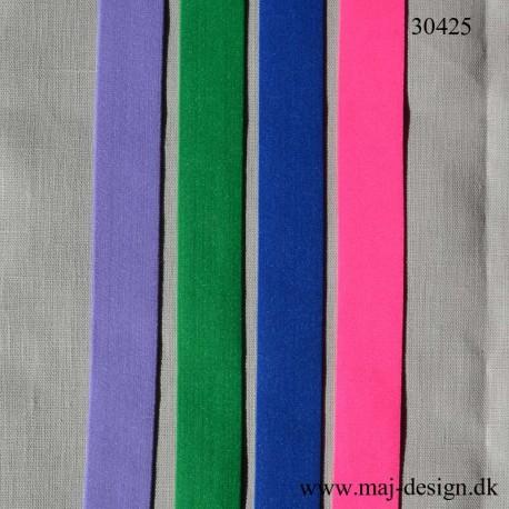 Elastik 30 mm bred Flere farver
