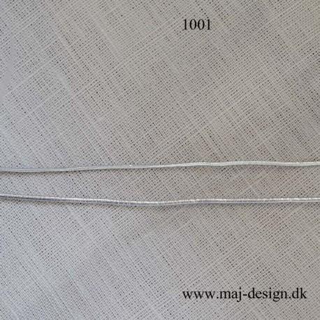 Rund Sølv elastik 1,6 og 2,2 mm