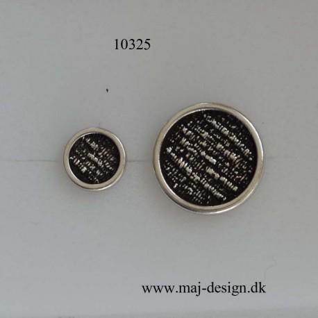 Knap med øje Gl.Sølv 10 og 18 mm