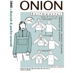 Anorak & Parka-anorak Onion snitmønster