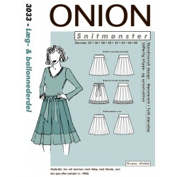 Læg & Ballonnederdel Onion snitmønster
