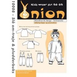Slå om-trøje og pludder bukser onion snitmønster