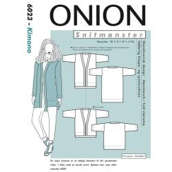 Kimono Onion snitmønster 6023