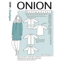 Coatigan Onion snitmønster