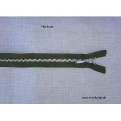YKK 4mm metal lynlås delbar 51 cm lang