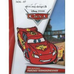 Cars McQueen Broderet Strygemærke 7 x 4 cm