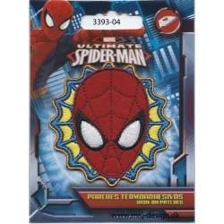 Spider-man Ø 7 cm Broderet Strygemærke