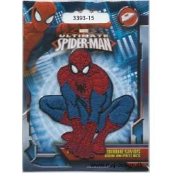 Spider-man 7 x 6,5 cm Broderet Strygemærke