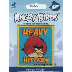 Angry Birds 6,5 x 6,5 cm strygemærke