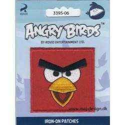 Angry Birds 6 x 6 cm strygemærke