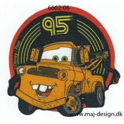 Cars Bumle Printet strygemærke 7,5 x 7 cm