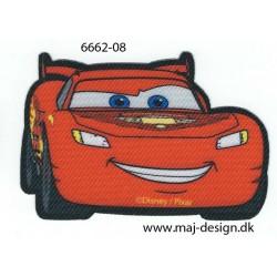 Cars McQueen Printet strygemærke 8x5 cm