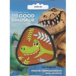 Den gode dinosaur Arlo broderet strygemærke 6x6,5 cm
