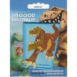 Den gode dinosaur Bruno broderet strygemærke 6,5x5 cm