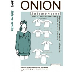 Skjorte/Tunika Onion snitmønster 5041