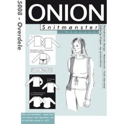 Overdele Onion snitmønster 5008