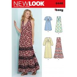 Maxi kjole New look snitmønster easy