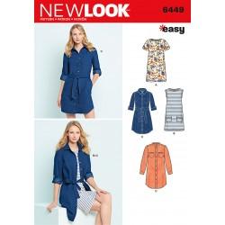 Skjortekjole New look snitmønster easy