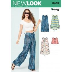 Løse bukser, shorts og nederdel New look snitmønster easy