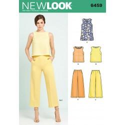 Bukser og top New look snitmønster