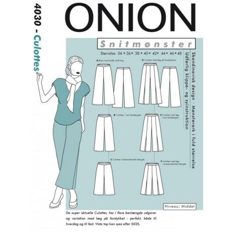 Culottes Onion snitmønster