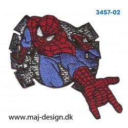 Spider-Man 7x6 cm. Broderet strygemærke