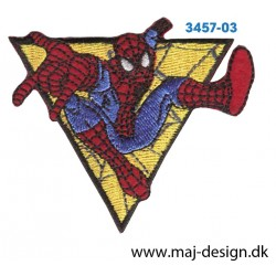 Spider-Man 6x7 cm. Broderet strygemærke