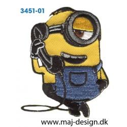Minions med telefon 7x4,5 cm.