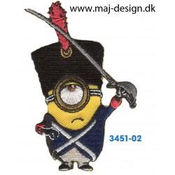 Minions Pirat 8x3 cm.