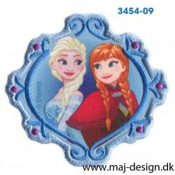 Frozen Anna og Elsa 6,5x7 cm.