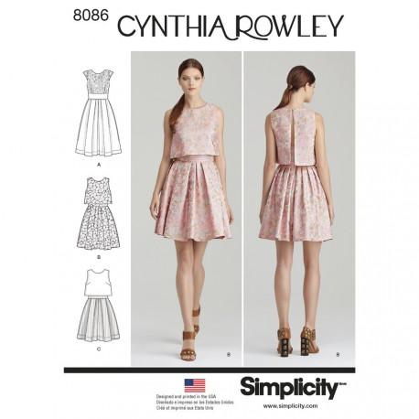 Kjole Cynthia Rowley snitmønster
