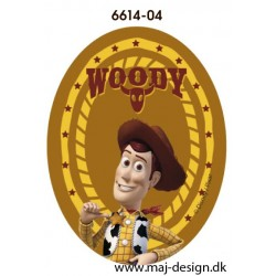 Toy Story Woody printet strygelapper 11x8 cm