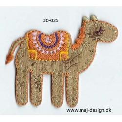 Kamel 6x5 cm strygemærke