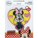 Mickey og Minnie strygemærker - Mickey Mouse ogMinnie Mouse strygemærker og strygelapper,Strygemærker og lapper bruges til at stryge på tøjet som pynt eller dekoration, eller for at dække over huller,