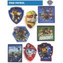 PAW PATROL - Paw Patrol strygemærker, strygelapper,Perfekt til pynt på tøjet. eller dække over et hul mærket stryges på tøjet ved middel varme, alle stryge mærker er Oeko-tex, vask 40 grader Ved køb at 8 mærker fås 15% rabat PAW Patrol er en canadisk tv-tegnefilmserie, der blev skabt af Keith Chapman.
