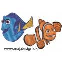 Find Dory - Find Dory strygemærker fra animationsfilmen 'Find Dory' der er efterfølgeren til Pixar-filmen find Nemo.Dory har fundet sig en ny familie hos Nemo og hans far Marlin. Men hvor er hendes rigtige familie egentlig?Find lige det som du mangler til at sætte dit eget præ på dit tøj, eller en lap til huller.